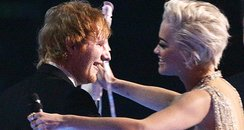 Ed Sheeran and Rita Ora