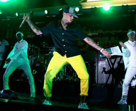 Chris Brown iHeartRadio Awards 2015