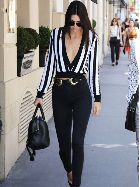 Kendall Jenner Striped Top