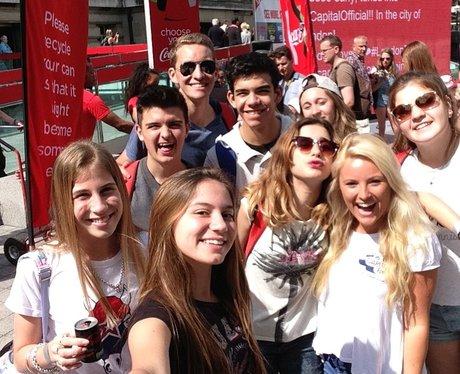 Capital Breakfast Live from Coca-Cola London Eye