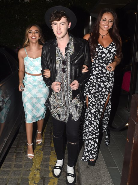 Jesy Nelson, Jake Roche And Jade Thirlwall