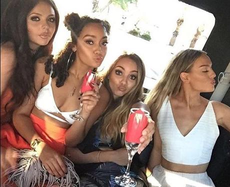 Little Mix party in Las Vegas - Instagram