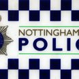 Nottinghamshire Police sign