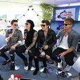 Rixton backstage at Fusion Festival 2015