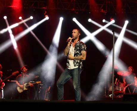 Maroon 5 perform live at the Singapore Grand Prix