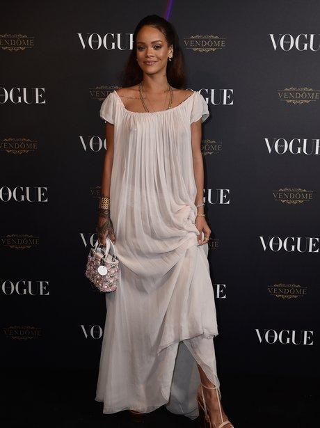 Rihanna Paris Fashion Week 2015