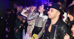 Kendall Jenner and Gigi Hadid Watching Backstreet