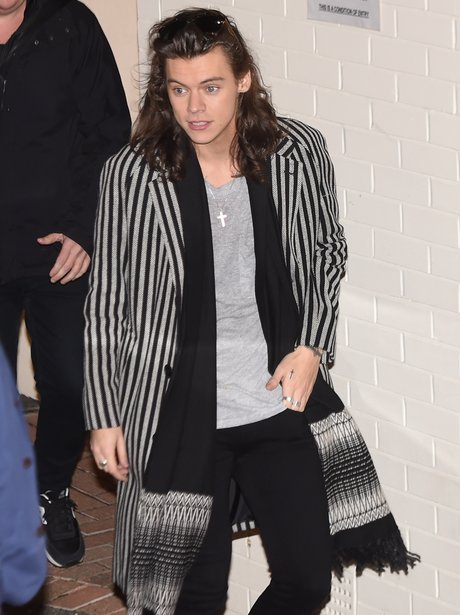 Harry Styles Striped Coat