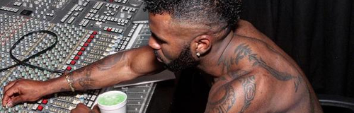 Jason Derulo Topless Studio