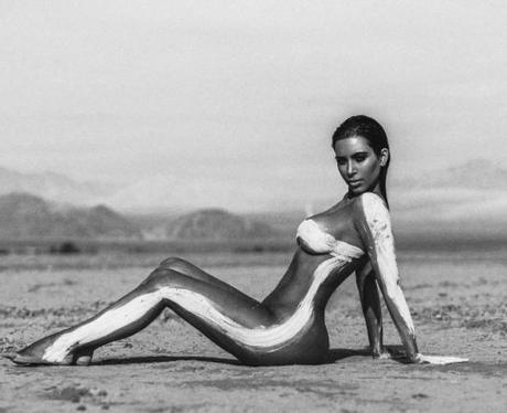 Kim Kardashian Desert Shoot Instagram