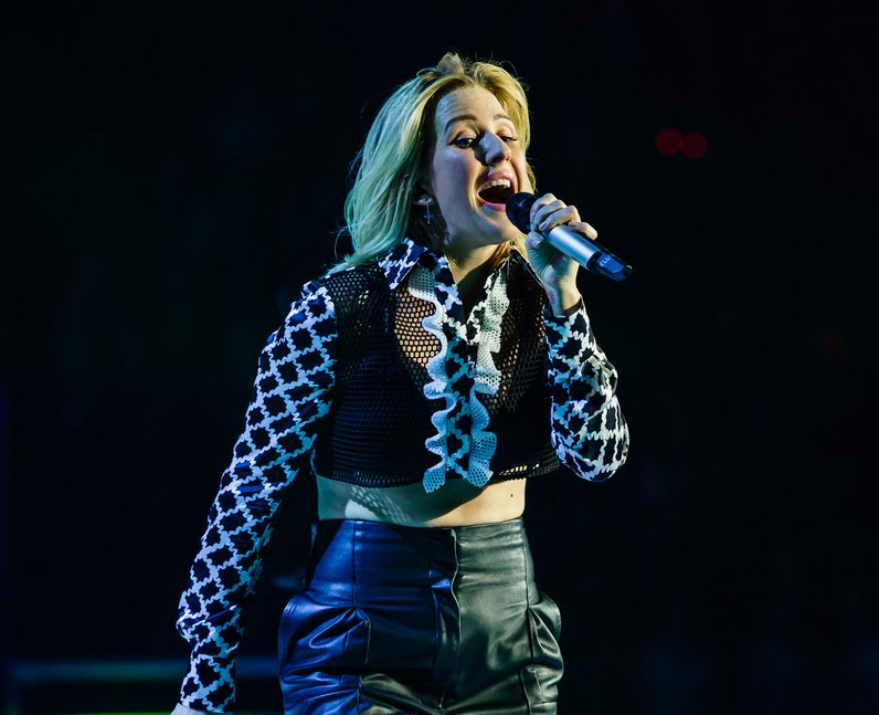 Ellie Goulding Jingle Bell Ball 2015 Live
