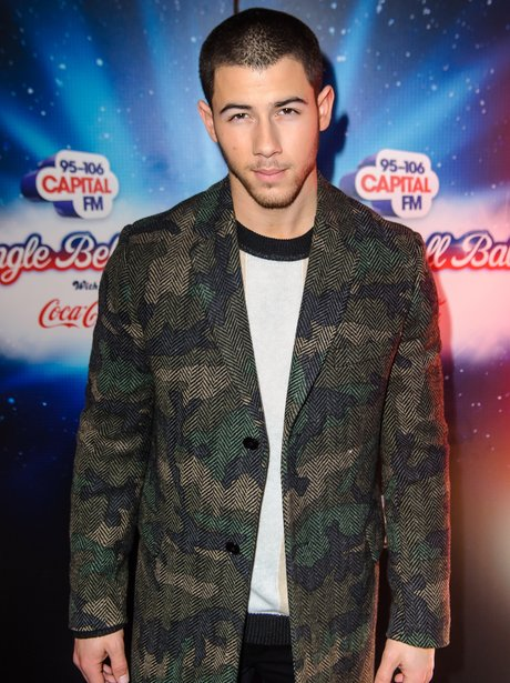 Nick Jonas Jingle Bell Ball 2015 Live Backstage