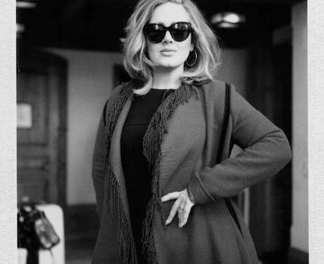 Adele Christmas Instagram