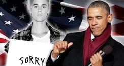 obama singing bieber