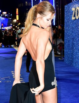 Millie Mackintosh at Zoolander 2 premiere