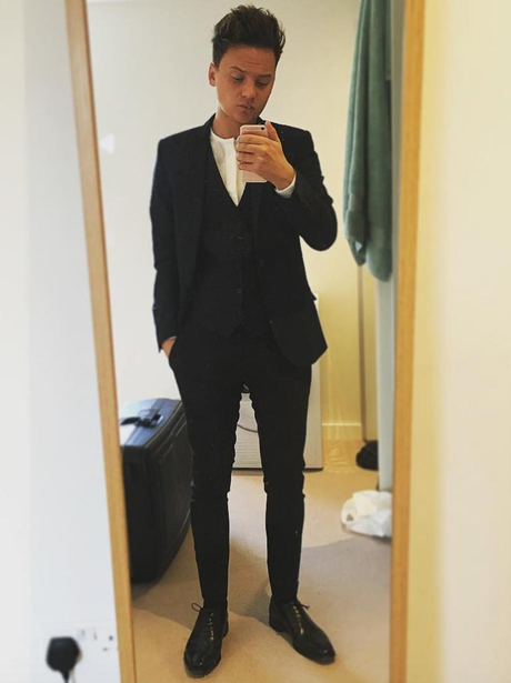 10. Suited and booted! Conor Maynard aims to break hearts as he snaps ...