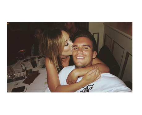 Charlotte Crosby cosies up to Gaz Beadle