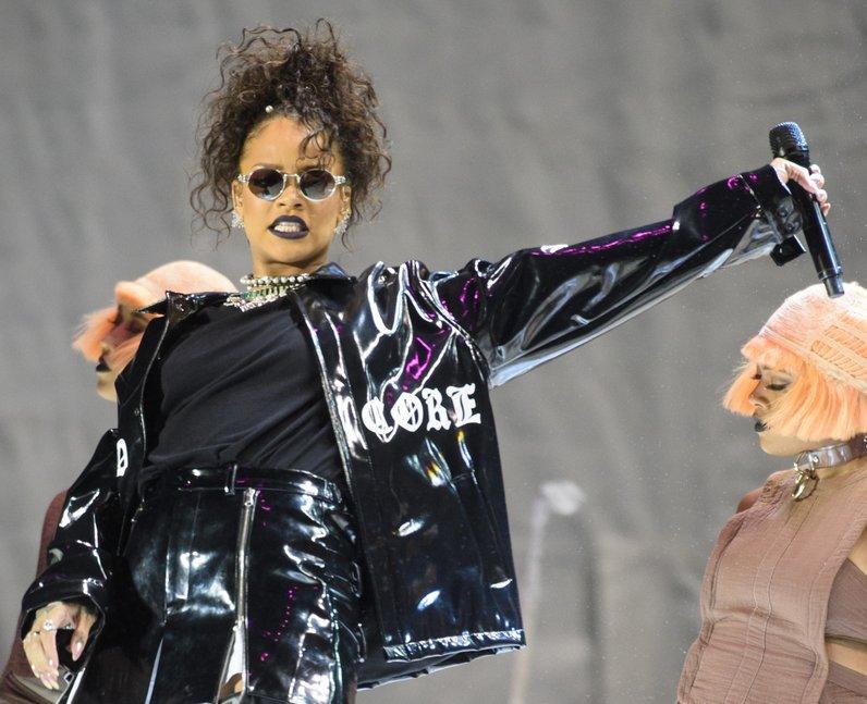 Rihanna at V Festival 2016