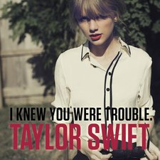 I Knew You Were Trouble artwork