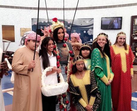Kim Kardashian out and about in Dubai