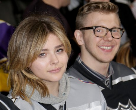 Chloe Grace Moretz goes make up free
