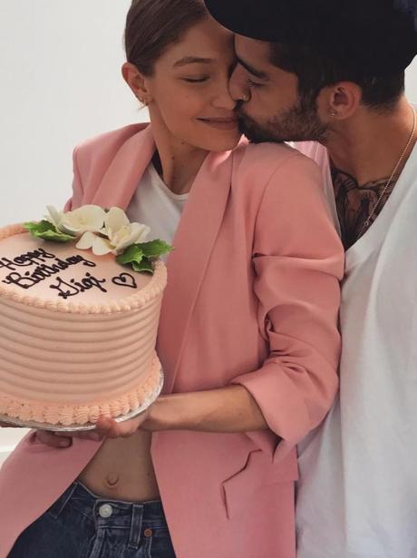 Zayn and Gigi celebrate the models 22nd birthday