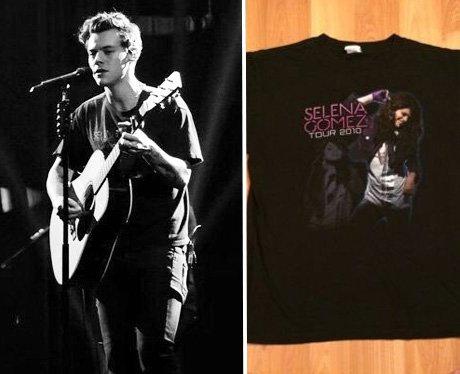 Harry Styles Selena Gomez tour merch