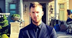 Calvin Harris video shoot