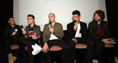 The Wanted At Premiere of  'Wanted Life'